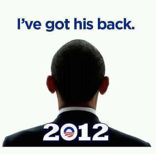 obama 2012 in glitter