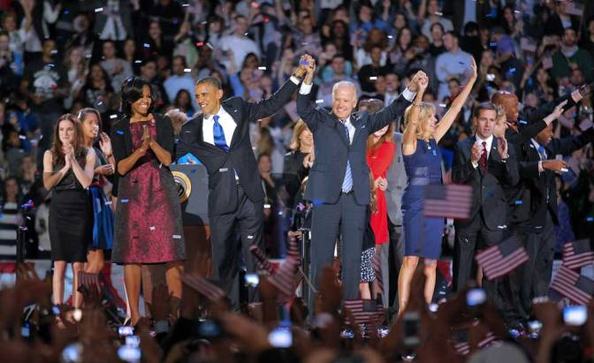 History Unfolding: President Obama Wins Second Term