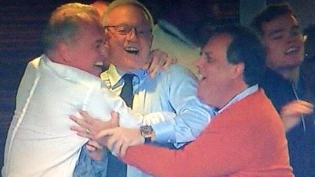 Chris Christie: warm in a luxury box at Lambeau while Camden High kids have no heat